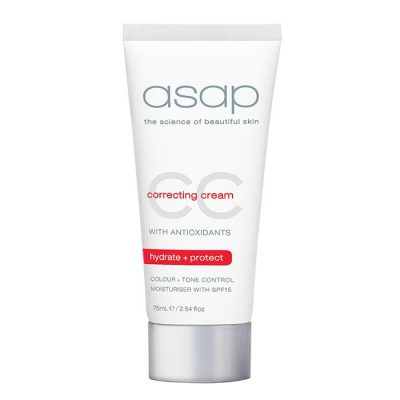 ASAP CC CREAM SPF15 MOISTURISER 75ml