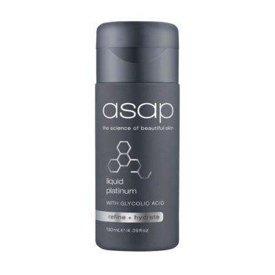 ASAP Liquid Platinum Face Skin ant-ageing treatment