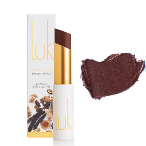 Luk Beautifood Lipstick Vanilla Chocolate Box Stick Swatch