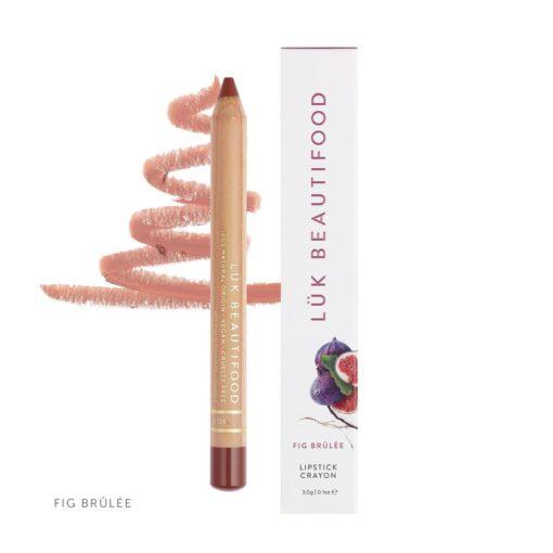 LUK Beautifood Organic Lip Fig_Brulee_Crayon